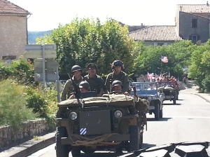 Convoy 23 August through the countryside around Malemort and Blauvac